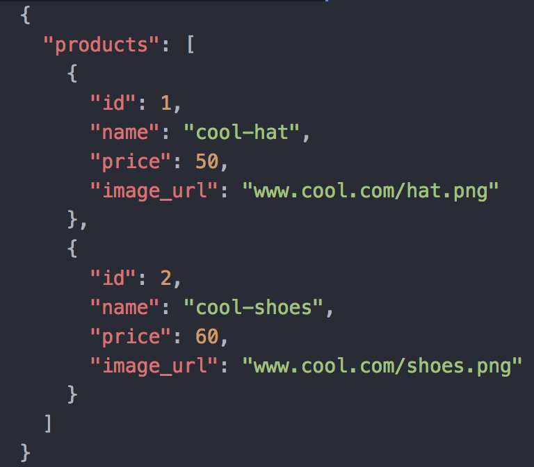 Feed JSON