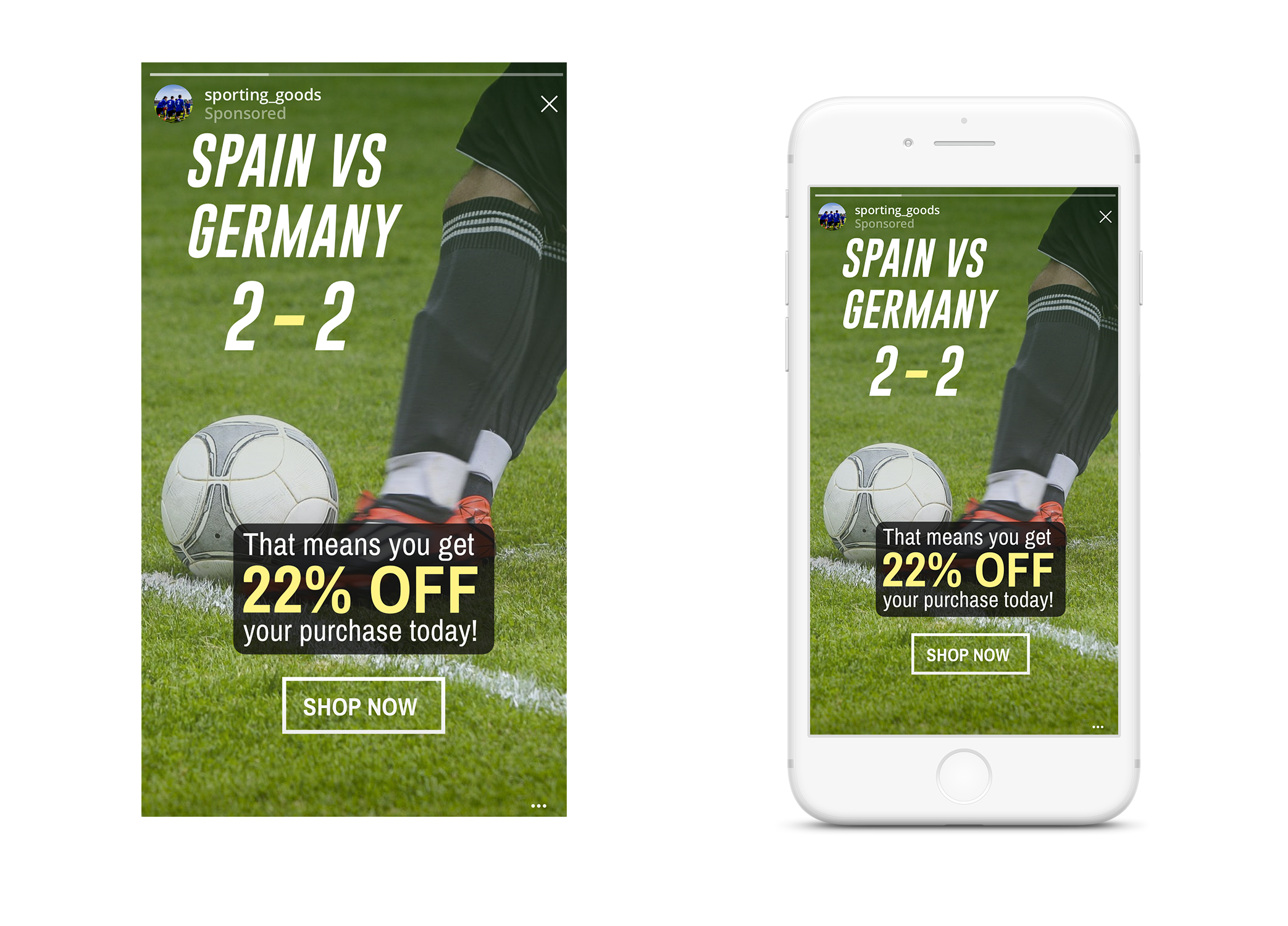 World Cup Creative Example